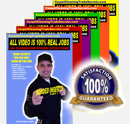 All Volumes CCTS Free Carpet Cleaning Training Videos and DVD's