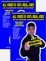 The ABC's Free Carpet Cleaning Training Videos and DVD's