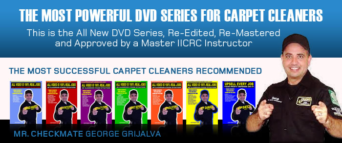 Free Carpet Cleaning Training Videos and DVD's